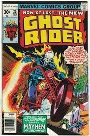 Ghost Rider #25 (ungraded) stock photo