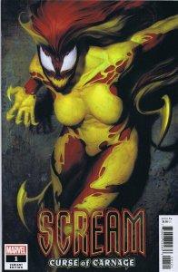 Scream Curse of Carnage #1 2020 Marvel Comics Artgerm Variant