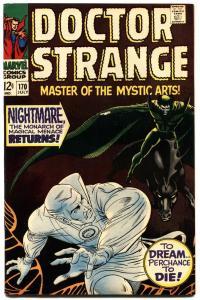 DOCTOR STRANGE #170 1968-MARVEL COMICS-HIGH GRADE COPY