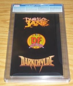 Painkiller Jane/Darkchylde #1 CGC 9.2 dynamic forces omnichrome COA (373/10000)