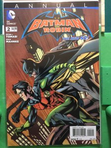 Batman and Robin Annual #2 The New 52
