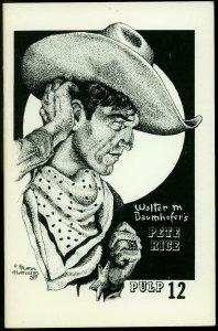Pulp #12 1980- Avenger - Cargo of Doom- Pete Rice- Fanzine VF