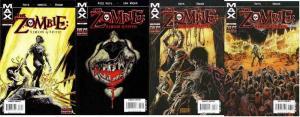 ZOMBIE SIMON GARTH (2008) 1-4  COMPLETE! COMICS BOOK