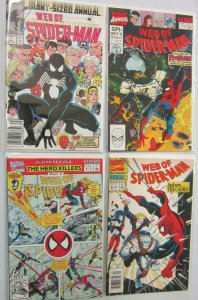 Web of Spider-Man ANN lot 4 difference avg 8.0 VF (1987-93)