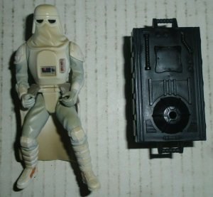 Deluxe Snowtrooper Star Wars Action Figure The Power Of the Force 1997 Kenner