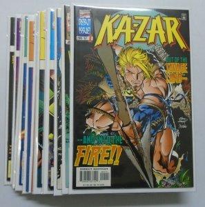 Ka-Zar (3rd Series) run:#1-14 8.0VF direct (1997)