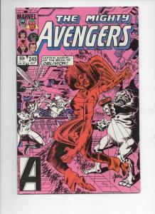 AVENGERS #245, NM, Captain America, Captain Marvel, 1963 1984, Marvel
