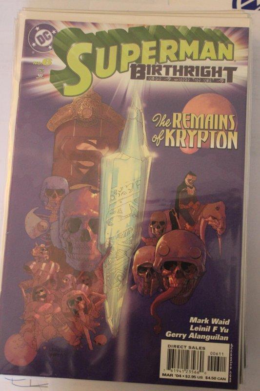 Superman Birthright 6 9-4-nm