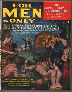 For Men Only 7/1961-Atlas-Cornell Woolrich-Bruce Minney-Rudy Nappi-FR