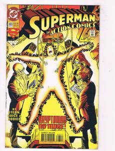 Aciton Comics #693 VF/NM DC Comics Comic Book Stern Superman Nov 1993 DE44