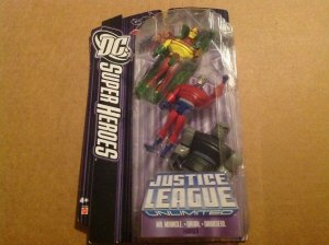 Justice League Unlimited Darkseid Mister Miracle & Orion 3 pack mint on card