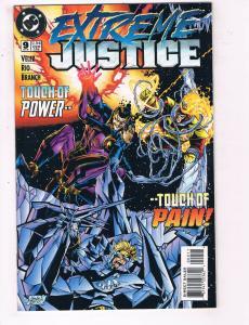 Extreme Justice #9 VF DC Comics CW TV Show Comic Book Velez Flash 1995 DE22