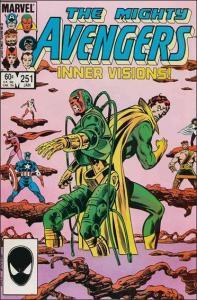 Marvel THE AVENGERS (1963 Series) #251 VF