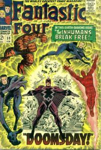 Fantastic Four (Vol. 1) #59 VG; Marvel | low grade comic - save on shipping - de