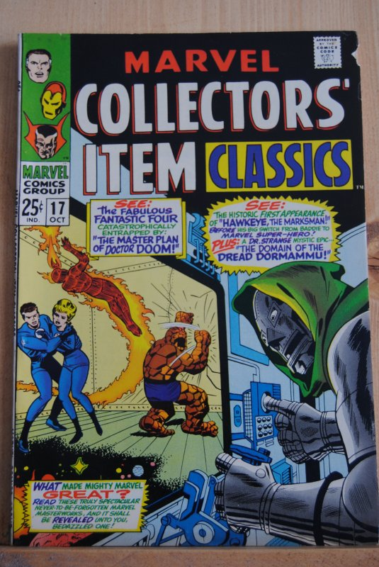 Marvel Collector's Item Classic #17, High Grade 8.0