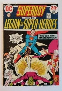 Superboy #199 (1973) Legion Of Super-Heroes The Gun That Mastered Men VF+ 8.5