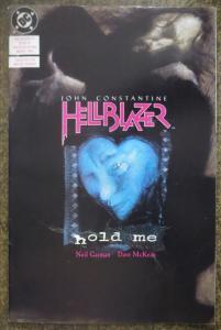 HELLBLAZER (DC/VERTIGO, 1988) #27 VF 'Hold Me' Neil Gaiman/Dave McKean w/insert