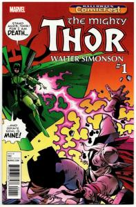 HCF Halloween ComicFest The Mighty Thor #1 (Marvel, 2017) NM