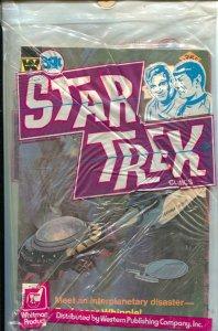 Star Trek Comics Whitman 3-Pac 1970's-3 issues still sealed in bag-35¢ cover ...