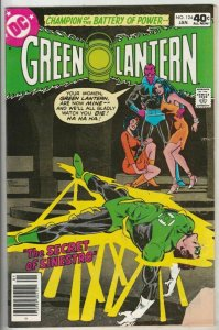 Green Lantern # 124 Strict VG Affordable-Grade Cover Sinestro, Katma Tui Wow