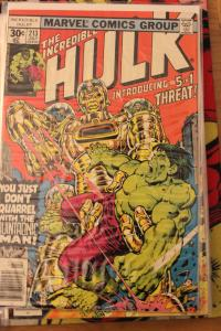 Incredible Hulk  213 FN/VF