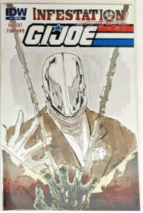 GI Joe Infestation (2011, IDW) #1-2 7 Covers! 1 Hand Drawn