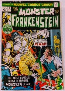 The Frankenstein Monster #1 (1973) F