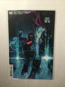Red Hood Outlaw 46 Variant Near Mint Nm Dc Comics