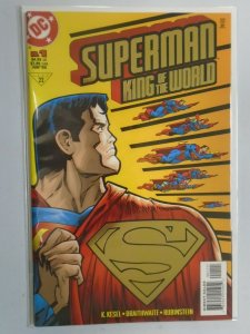 Superman King of the World #1 Direct gold foil edition 6.0 FN (1999)