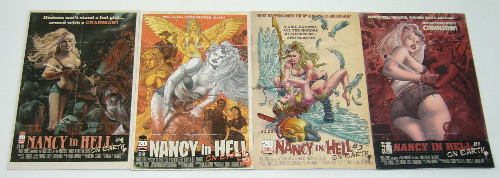 Nancy In Hell On Earth 1 Image 2012 NM
