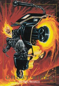 1992 SKYBOX MARVEL MASTERPIECE GHOST RIDER CARD #37