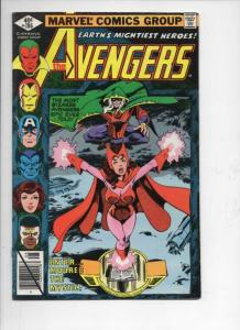 AVENGERS #186, 188, FN, Scarlet Witch, Captain America, Marvel, 1963