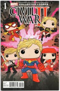 Civil War II #1 Collector Corps POP Variant (Marvel, 2016) VF