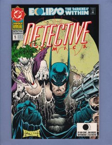 Detective Comics Annual #5 NM Sam Keith Cover Joker DC 1992