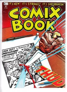 Comix Book  # 1  strict  VF/NM+  artist  Basil Wolverton