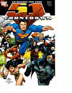 Lot Of 5 Countdown DC Comic Books #51 50 49 48 47 J69