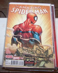 Amazing Spider-Man # 18 (July 2015, Marvel) last issue, peter parker avengers