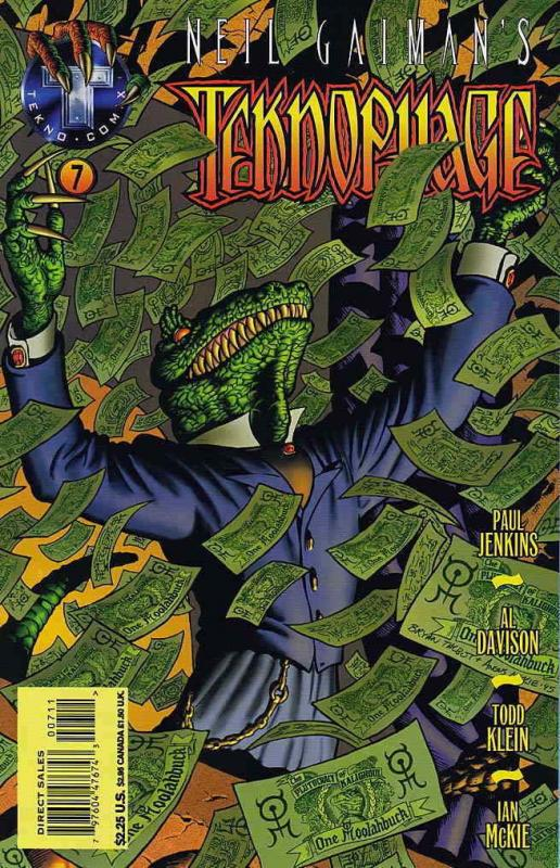 Teknophage (Neil Gaiman's…) #7 VF/NM; Tekno | save on shipping - details inside