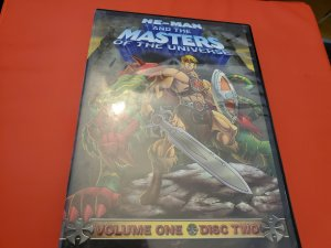 he-man and the masters of the 2008 universe volume 1 disc 2 dvd x1