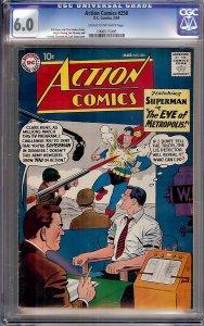 Action Comics #250 (DC, 1959) CGC 6.0