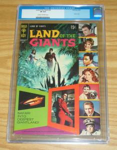 Land of the Giants #4 CGC 8.0 silver age gold key comics based on tv series