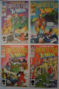 Fantastic Four vs. X-Men (1987) 4 Issue Mini-Series