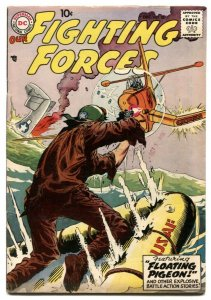Our Fighting Forces #28 1957-Kubert lifeboat cover F/VF