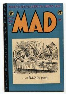 MAD #15 EC-1954-Wally Wood-Will Elder-Gasoline Alley-Wild One-Jack Davis-FN