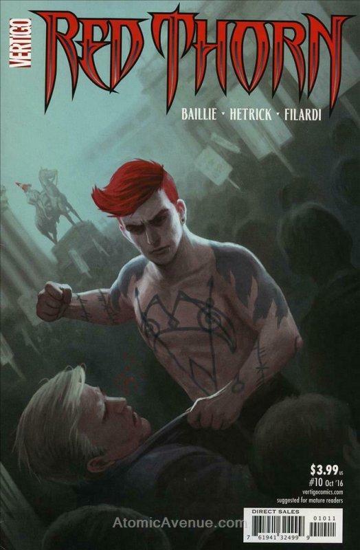Red Thorn #10 FN; DC/Vertigo | save on shipping - details inside