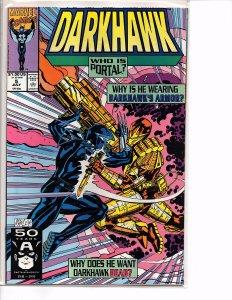 Marvel Comics Darkhawk #5 Portal NM