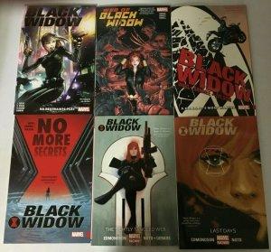 Black Widow SC TPB Lot 6 Diff 8.0 VF