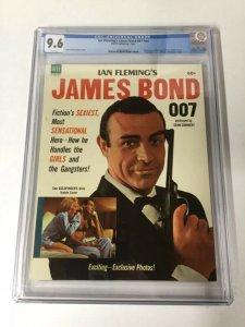 Ian Flemings James Bond Dell Publishing NN 1 CGC 9.6 White Pages 1964 Rare!
