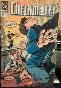 DC COMICS-CHECKMATE-#27-1st Series-DATE: JUNE 1990-COVER PRICE: $1.50