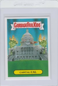 Garbage Pail Kids Capital Cal 13a GPK 2016 American As Apple Pie In Your Face